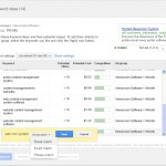 Google AdWords keyword ideas