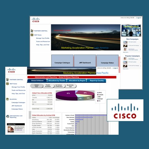 Cisco MAP: Joint Marketing Campaign Portal