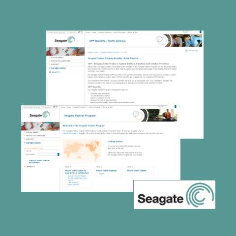 Seagate Web Site and Portal Development
