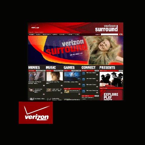 Verizon Online Entertainment Portal