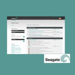 Seagate Marketing Assets and Branding Portal