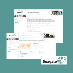 Seagate Web Site and Portal Development